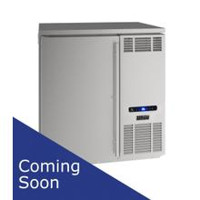 """32"""" Back Bar Refrigeration With Stainless Solid Finish (115 V/60 Hz Volts /60 Hz Hz)"""