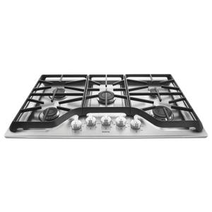 36-inch Wide Gas Cooktop with Power Burner Stainless Steel -