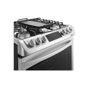 LG Canada - 6.3 cu. ft. Gas Slide In Range With ProBakeConvection™ and EasyClean®