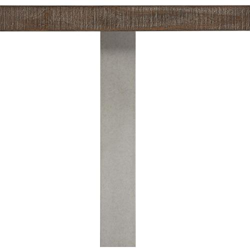 Draper Dining Table in Sable Brown, Gray Mist