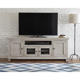 74 Inch Console - Gray Chalk Finish