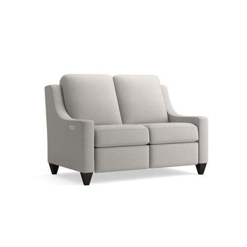 Motion Reclining Fabric Loveseat