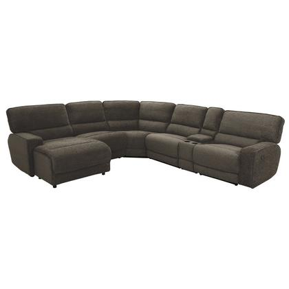 See Details - 6-Piece Modular Reclining Sectional with Left Chaise