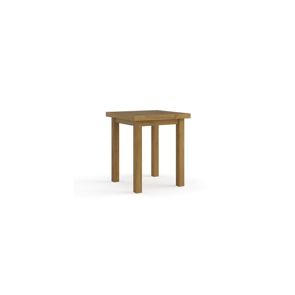 Martin Teak Tables Square Side Table