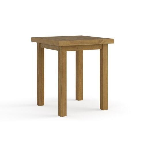 Martin Teak Tables Square Side Table
