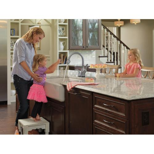 Arctic Stainless Single Handle Pull-Down Kitchen Faucet with Touch 2 O ® and ShieldSpray ® Technologies