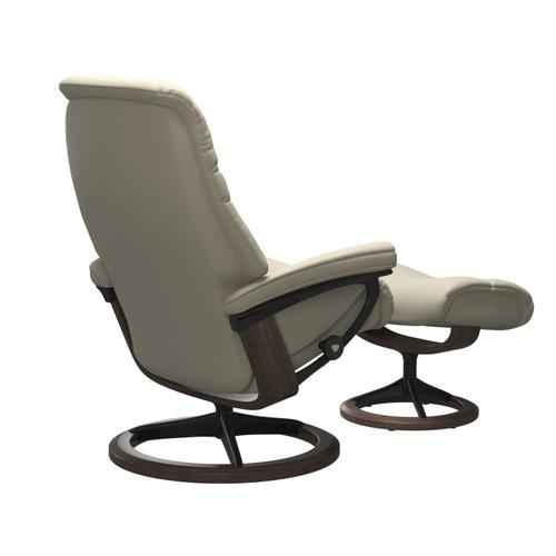 Stressless By Ekornes - Stressless® Sunrise (L) Signature chair with footstool