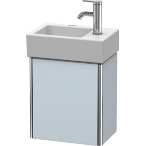 Vanity Unit Wall-mounted, Light Blue Satin Matte (lacquer)