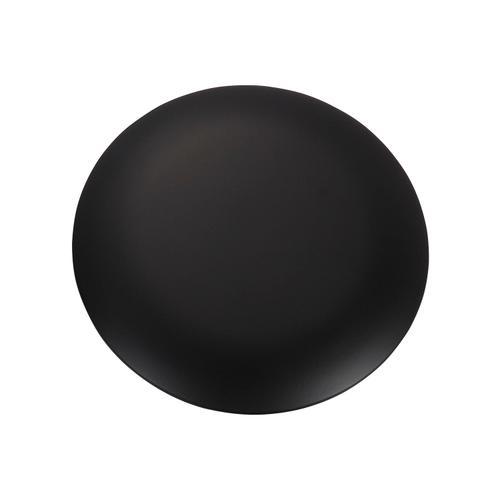 Minimalist Blanking Plate - Black
