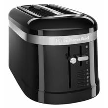 See Details - 4 Slice Long Slot Toaster with High-Lift Lever - Onyx Black