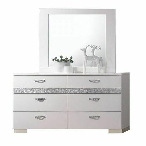 ACME Naima II Mirror - 26774 - White