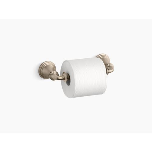 Kohler - Vibrant Polished Brass Toilet Paper Holder