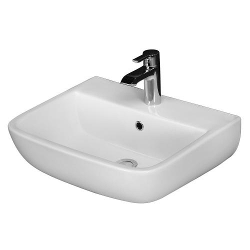 Series 600 Large Wall-Hung Basin - Single-Hole