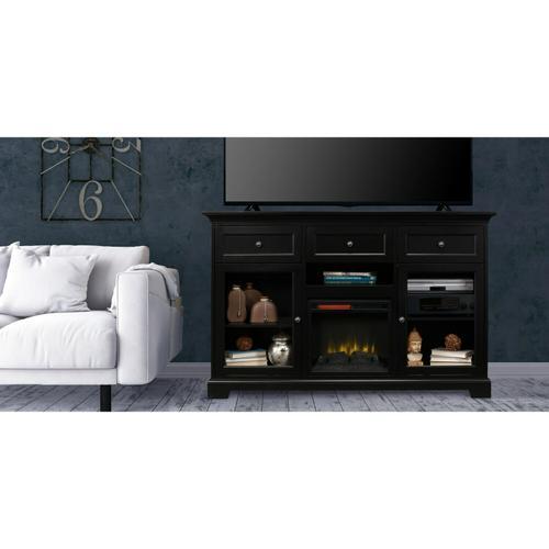 FT63B Extra Tall Fireplace Custom TV Console