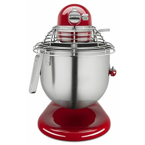 KitchenAid Canada - NSF Certified® Commercial Series 8-Qt Bowl Lift Stand Mixer with Stainless Steel Bowl Guard - Empire Red