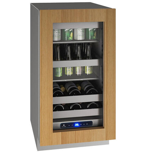 "Hbv518 18"" Beverage Center With Integrated Frame Finish and Field Reversible Door Swing (115 V/60 Hz Volts /60 Hz Hz)"