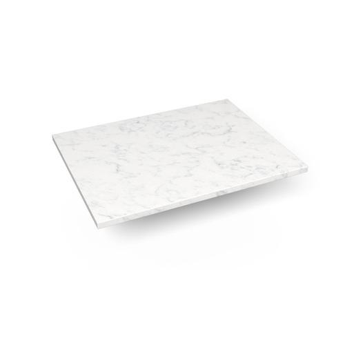 """Engineered Stone 25"""" X 19"""" X 3/4"""" Quartz Dry Vanity Top In Lyra"""