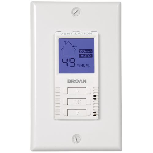 Broan® VT7W Automatic/Manual Wall Control