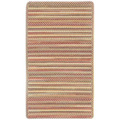 Americana Lt. Gold Braided Rugs (Custom)