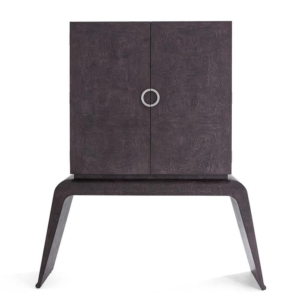 See Details - Baxter Bar Cabinet-Grey