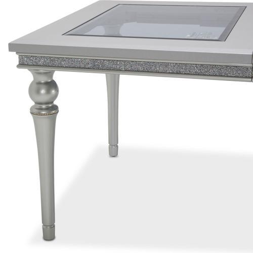 Amini - 4 Leg Upholstered Dining Table