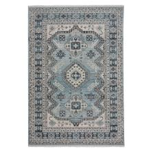 Landis-Kazak Blue Mist Machine Tufted Rugs