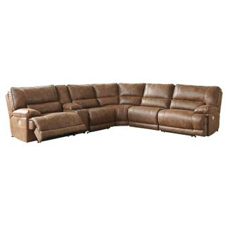 Thurles Saddle 6 Piece Reclining Sectional