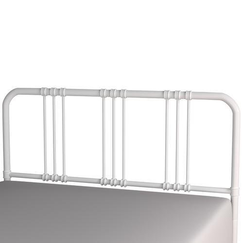 Gallery - Dakota Full/queen Metal Headboard With Frame, White