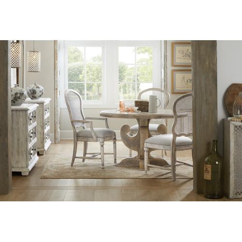 Hooker Furniture - Boheme Gaston Metal Back Arm Chair - 2 per carton/price ea