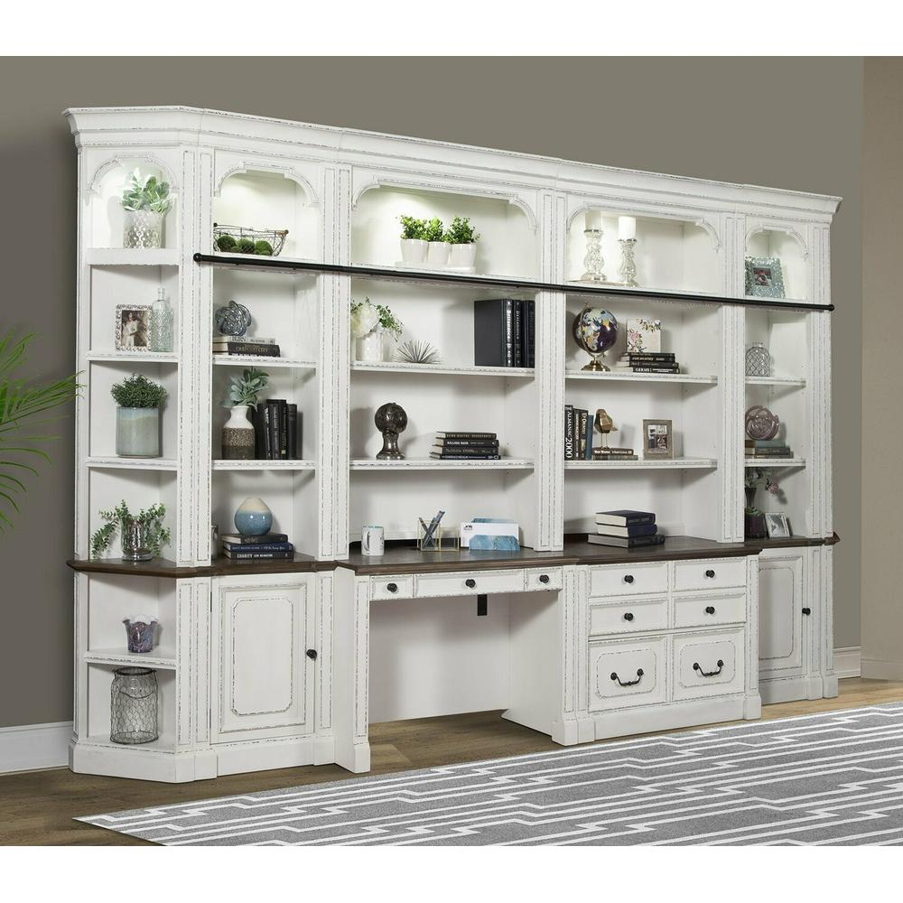 See Details - PROVENCE 8pc Library Wall