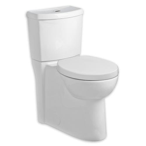 American Standard - Studio Dual Flush Elongated Toilet - 1.1 GPF/1.6 GPF - White