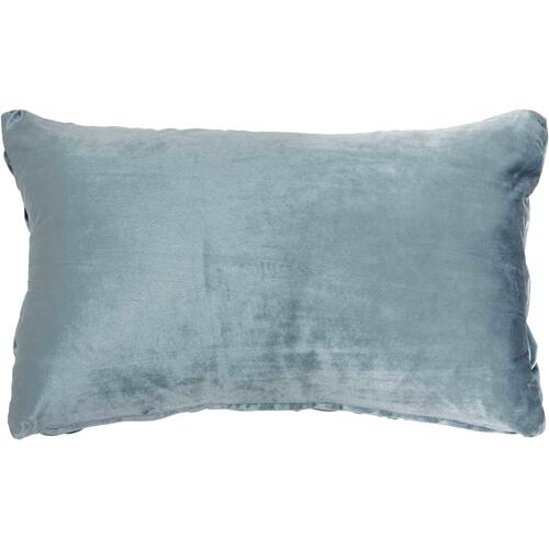 "Life Styles L0064 Powder 14"" X 24"" Throw Pillow"