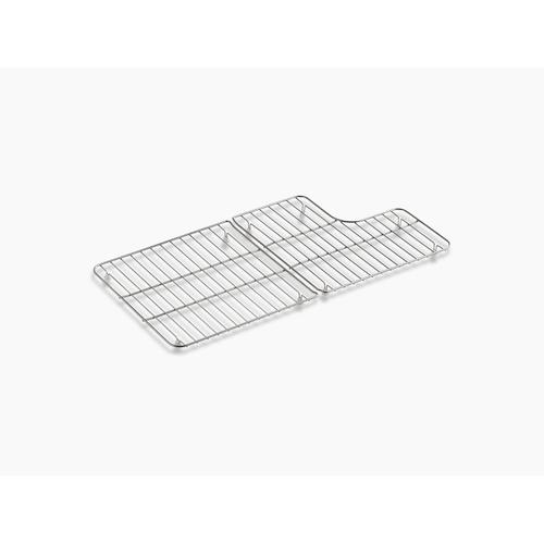 "Stainless Steel Stainless Steel Sink Racks for 36"" Whitehaven"
