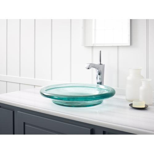 Ice Vessel Bathroom Sink