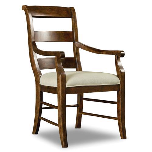 Hooker Furniture - Archivist Ladderback Arm Chair - 2 per carton/price ea