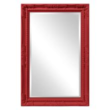 View Product - Queen Ann Mirror - Glossy Red