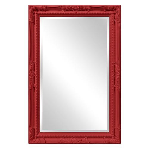 Howard Elliott - Queen Ann Mirror - Glossy Red