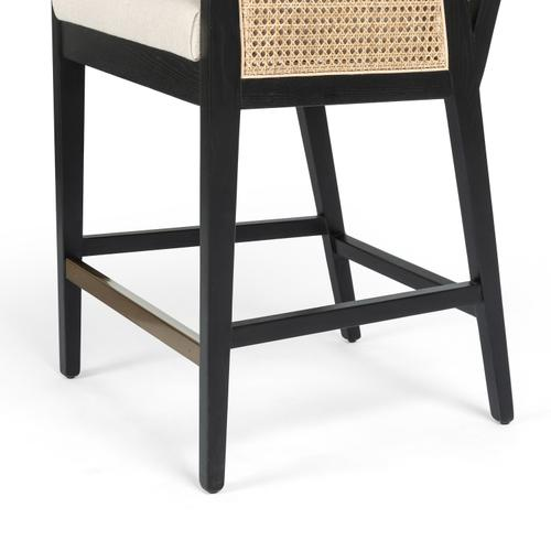 Counter Stool Size Antonia Cane Bar + Counter Stool