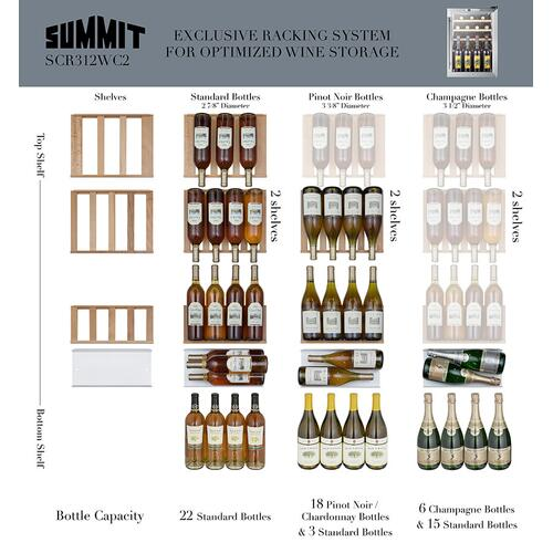 Summit - Compact Wine Cellar