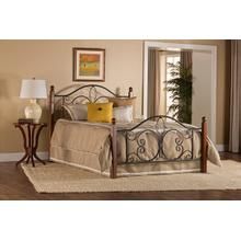 View Product - Milwaukee Wood Post Twin Bed