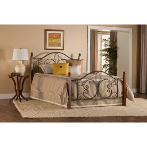 Gallery - Milwaukee Wood Post Twin Bed