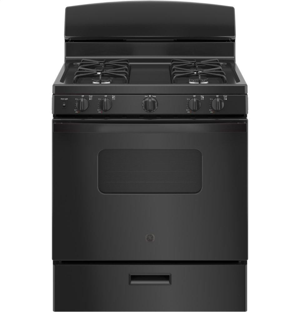 """GEGe® 30"""" Free-Standing Front Control Gas Range"""