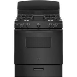 "GE30"" Free-Standing Front Control Gas Range"