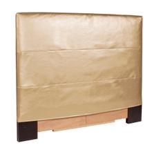 Twin Slipcovered Headboard Luxe Gold