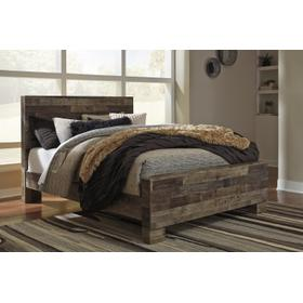 Derekson Queen Panel Bed Multi Gray