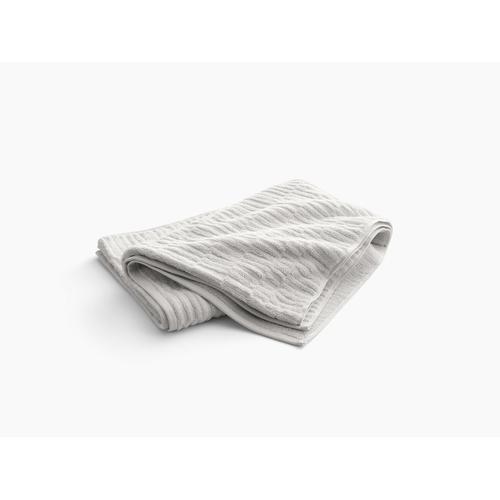 "Dune Bath Sheet With Tatami Weave, 35"" X 70"""