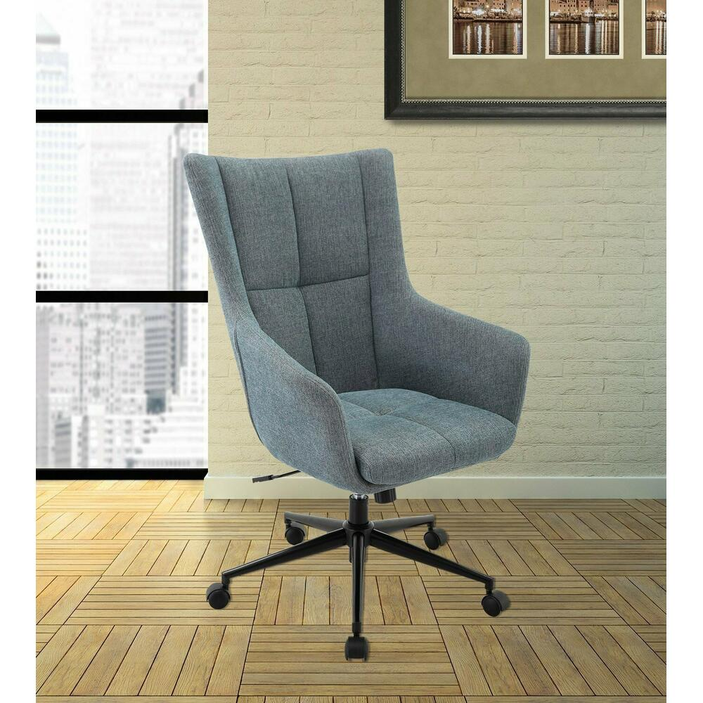 DC#206-AQU - DESK CHAIR Fabric Desk Chair