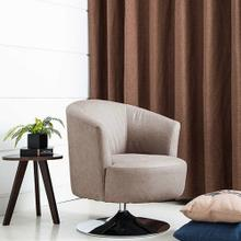 See Details - Twist Accent Chair in Steel Fabric