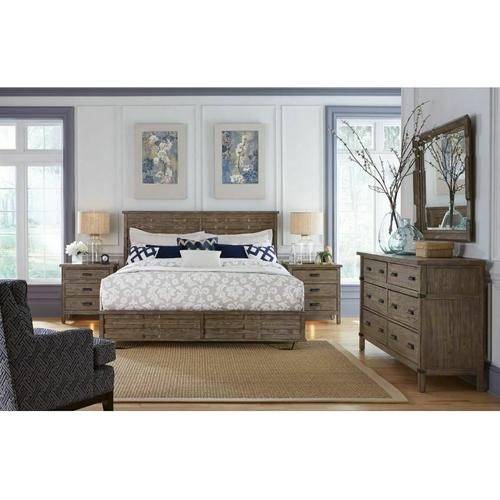 Gallery - Panel King Bed - Complete