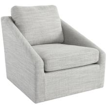 Monticello Swivel Accent Chair Grey
